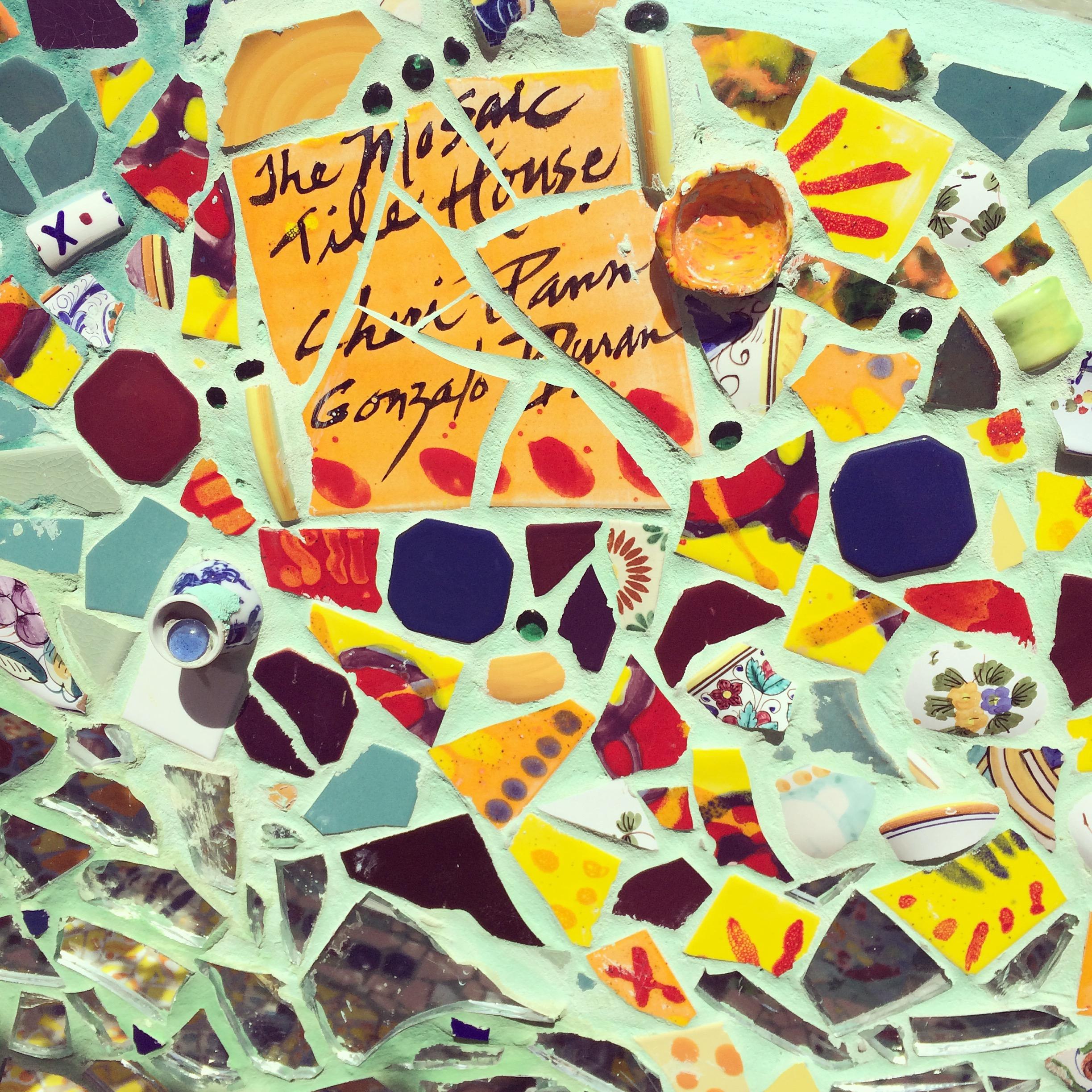venice's mosaic tile house | the la sessions