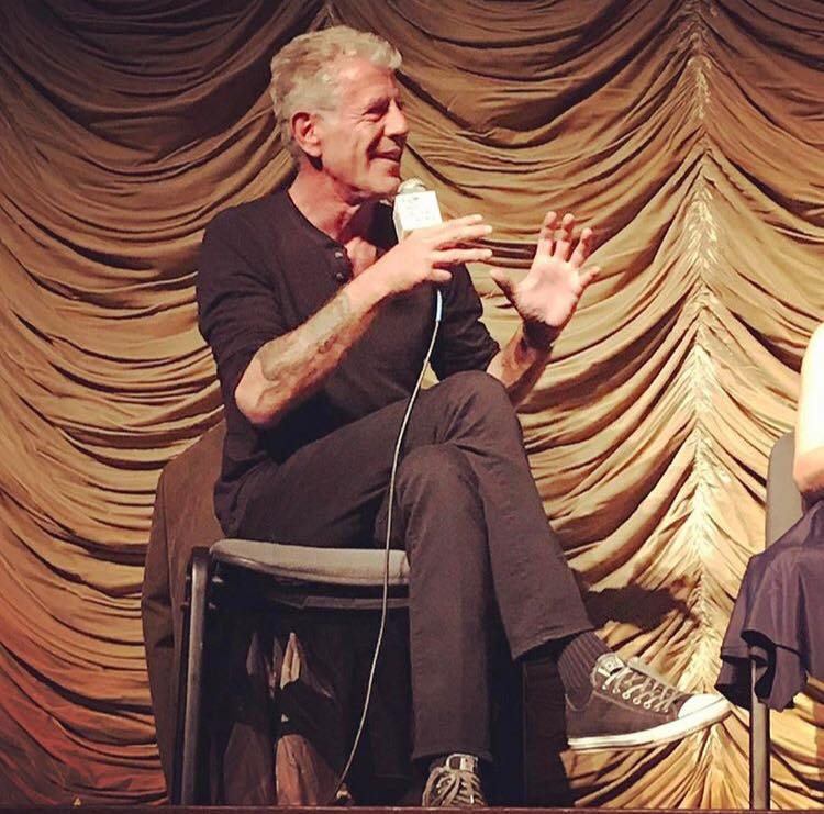 Anthony Bourdain - LACMA